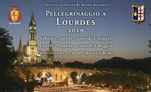 Pellegrinaggio Lourdes 2019
