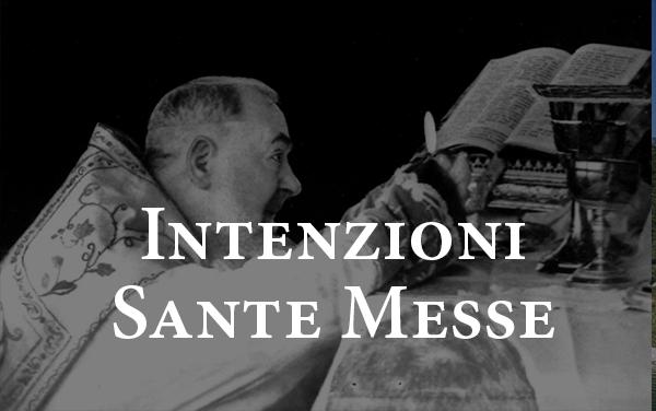 Intenzioni SS. Messe
